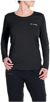 VAUDE Women's Brand LS Shirt black