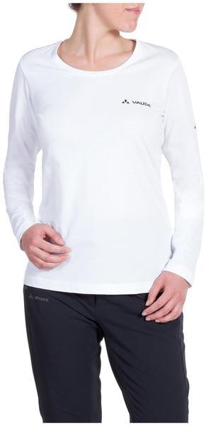 VAUDE Women's Brand LS Shirt white