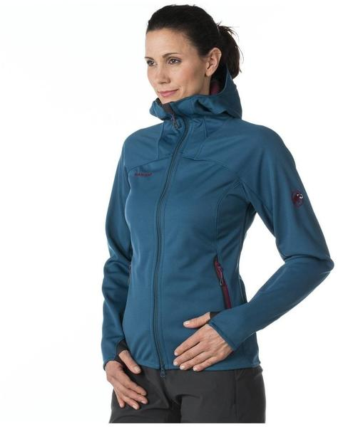 Mammut Ultimate Hoody Women orion-light pacific