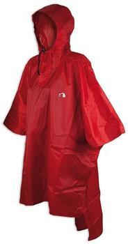 Tatonka Poncho 3 red