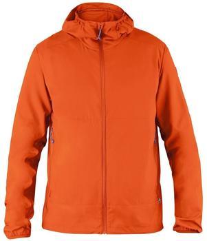 fjaellraeven-abisko-hybrid-windbreaker-flame-orange