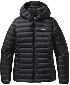 patagonia-women-s-down-sweater-hoody-black