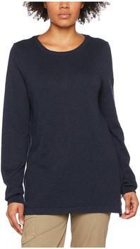 Fjällräven Women's High Coast Knit Sweater blau/schwarz