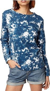 O'Neill Women's Print Crew Sweatshirt blau