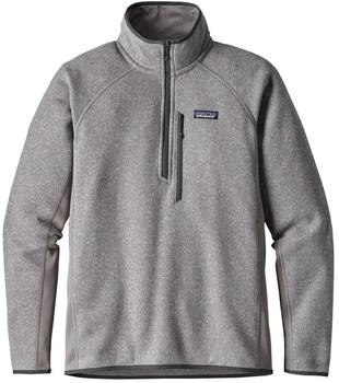 Patagonia Men's Performance Better Sweater 1/4 Zip feather grey