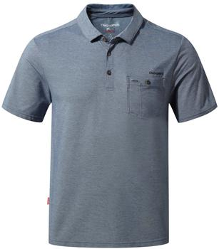 Craghoppers NosiLife Gilles Short Sleeved Polo grau
