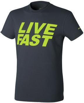 Dynafit First Track Co Tee T-Shirt schwarz