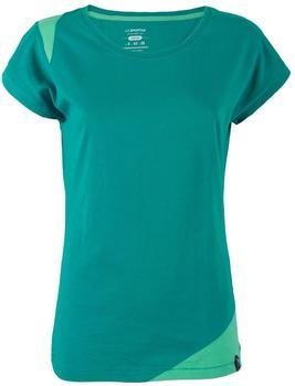 La Sportiva Women's Chimney T-Shirt türkis