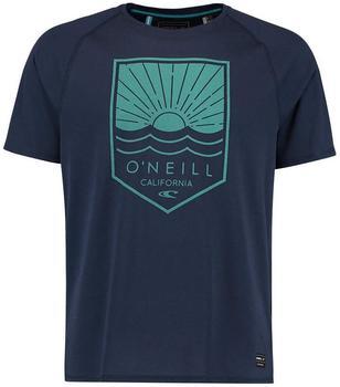 O'Neill Elements Hybrid T-Shirt schwarz/blau