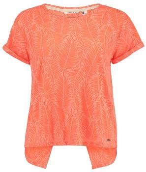 O'Neill Women's Crop Split Back T-Shirt orange/rot