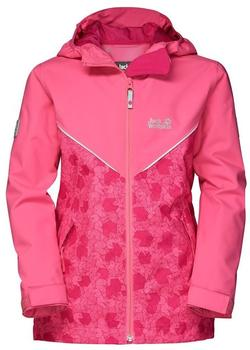 Jack Wolfskin Forrest Leaf Jacket Girls hot pink