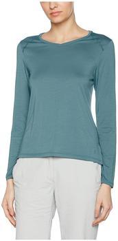 Mountain Hardwear Women's Coolhiker AC Long Sleeve T blau