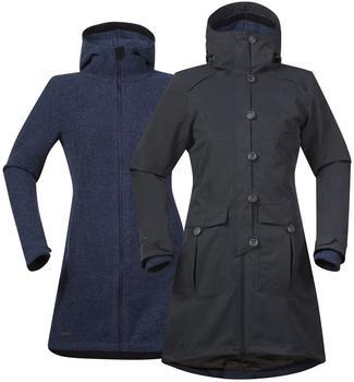 Bergans Bjerke 3in1 Lady Jacket solid charcoal/night blue