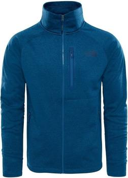 The North Face Men's Canyonlands full zip shady blue heather