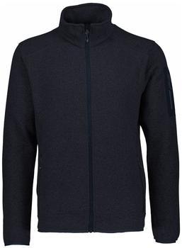 CMP Men Fleece Jacket (3H60747N-86BA) black blue/cobalto
