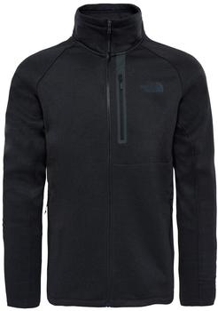 The North Face Men's Canyonlands full zip tnf black