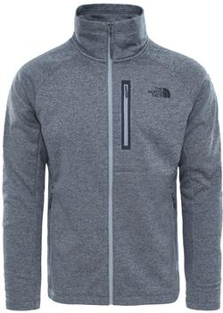 The North Face Men's Canyonlands full zip medium grey heather