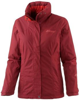 Maier Sports Metor Therm Women Jacket red dahlia