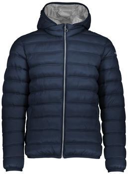 CMP Man Jacket Zip Hood (3Z19177) black/blue silver