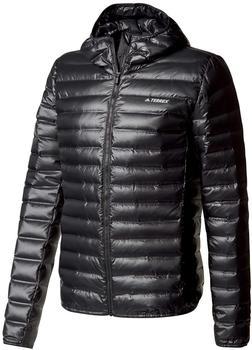 Adidas Terrex Lite Down Hooded Jacket Man black
