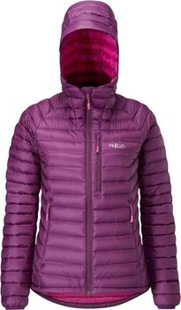 Rab Women's Microlight Alpine Jacket berry