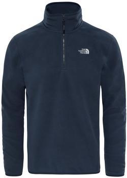The North Face Men's 100 Glacier 1/4 Zip Pullover Fleece urban navy/urban navy