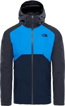 The North Face Herren Stratos Jacke asphalt grey/bomber blue/urban navy