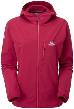 Mountain Equipment Women Echo Hooded Jacket sangria