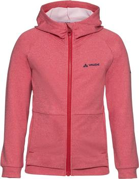 VAUDE Kids Awilix Tracktop hooded indian red