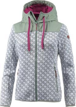 CMP Women knitted fleece Jacket (8H6576) bianco-ice