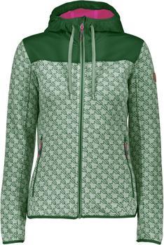 CMP Women knitted fleece Jacket (8H6576) timo-bianco