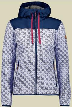 CMP Women knitted fleece Jacket (8H6576) argento-bianco