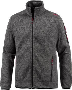 CMP Men Fleece Jacket (3H60747N-19AG) tortora-nero