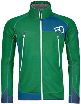 ORTOVOX Merino Fleece Plus Jacke irish green