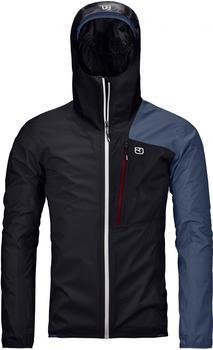 ORTOVOX M Merino Hardshell Light 2.5L Civetta Jacket black raven