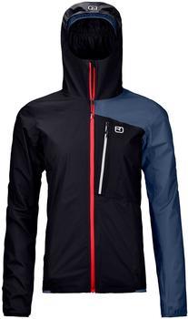 ORTOVOX W Merino Hardshell Light 2.5L Civetta Jacket black raven