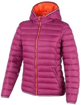 CMP Woman Jacket Zip Hood (3Z27366P) berry/tangeri