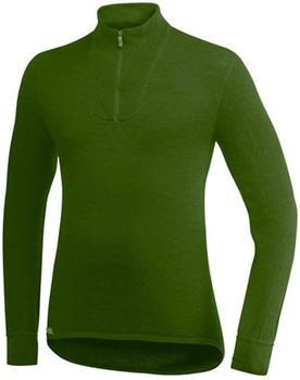 Woolpower Zip Turtleneck Men 400 green