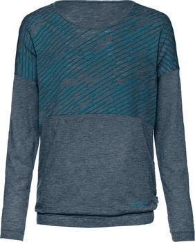 VAUDE Women´s Malpica LS Shirt dark petrol