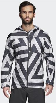 Adidas Agravic Windbreaker white