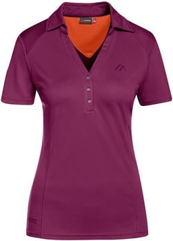 Maier Sports Polo Sydals dark purple