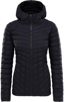 The North Face Thermoball Hoodie Jacket Women tnf black matte