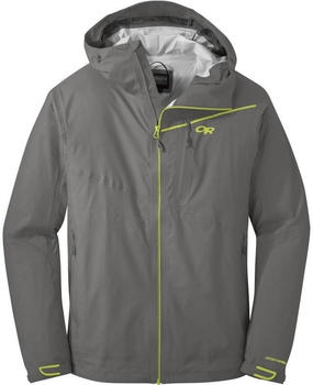 Outdoor Research Interstellar Jacket pewter/lemongrass