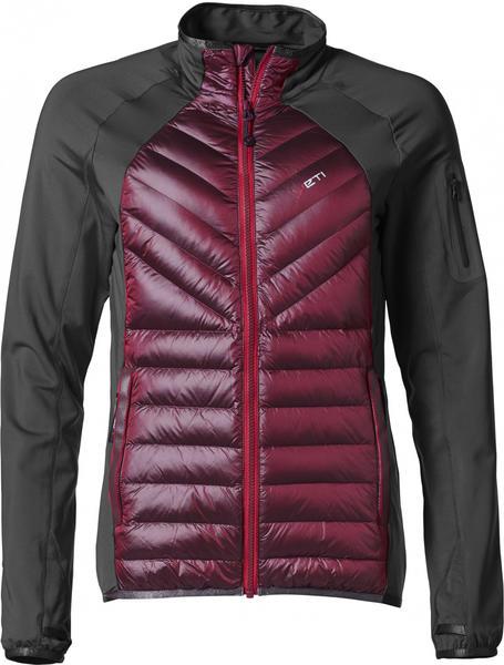 Yeti Tone Jacket W antracite/dark red