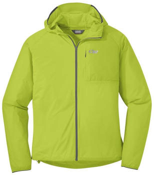 Outdoor Research Tantrum II Hooded Jacket Men lemongrasscharcoal