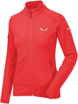 Salewa Ortles Polartec Full-Zip Jacket Women red