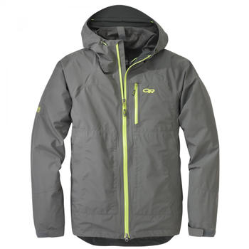 Outdoor Research Foray Jacket pewter/lemongrass