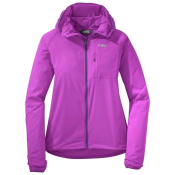 Outdoor Research Tantrum II Hooded Jacket Women's ultraviolet/purple rain