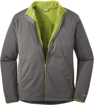 Outdoor Research Ascendant Hoody pewter/lemongrass