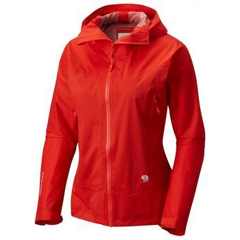 Mountain Hardwear Quasar Lite II Jacket Women fiery red